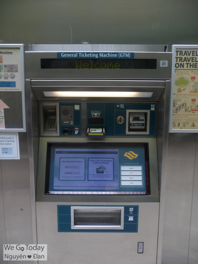 General Ticketing Machine (GMT)