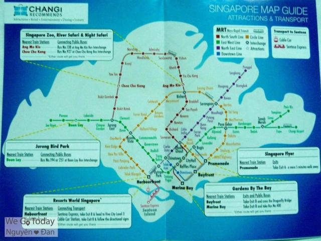 Bản đồ MRT