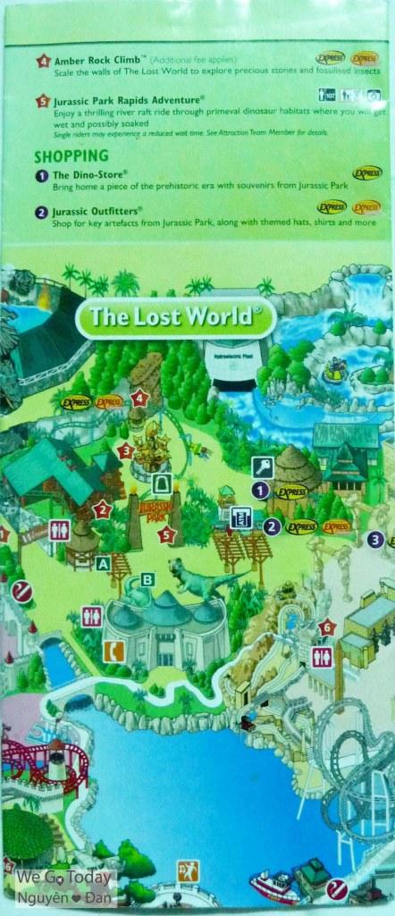 Bên ngoài bản đồ. Chú ý phân biệt bản đồ tiếng Anh/ tiếng Trung và chọn ngôn ngữ phù hợp với bạn.