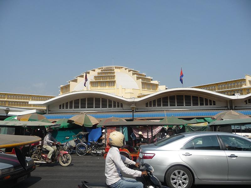 Khung cảnh chợ mới
