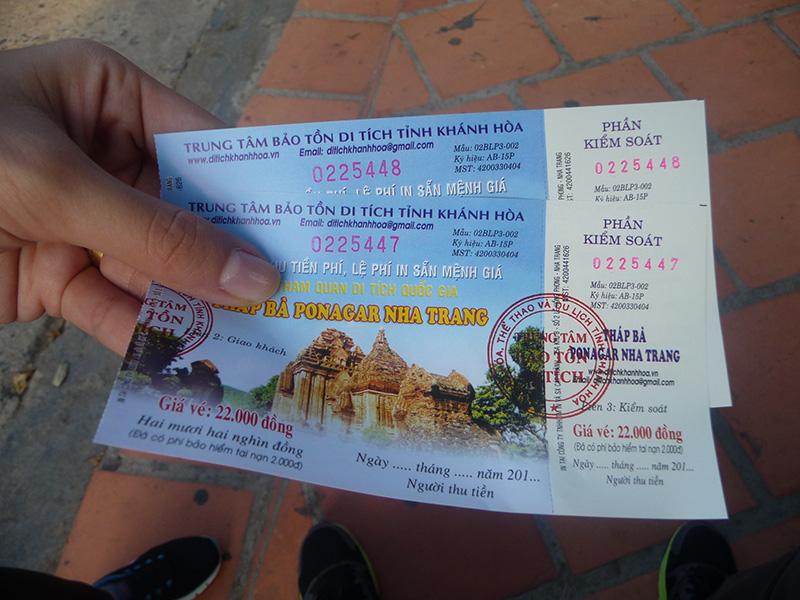 Vé tham quan Tháp Bà Ponagar