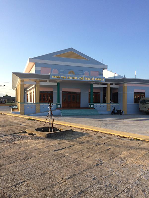 Trung tâm văn hóa - thể thao xã Nhơn Lý