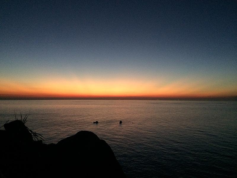 Cảnh mặt trời mọc