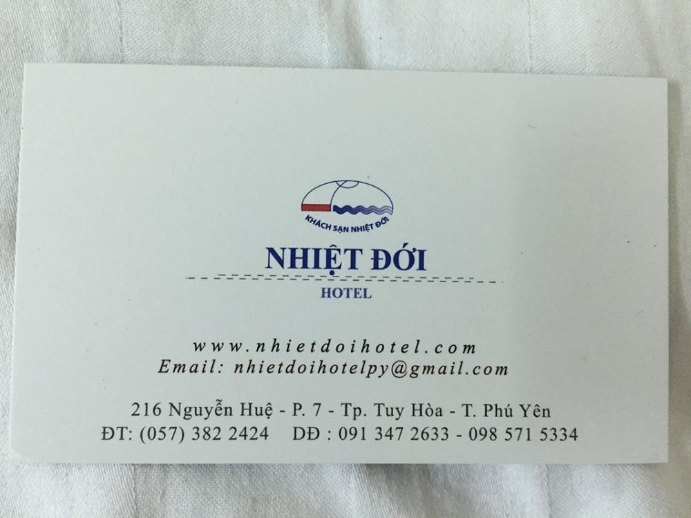 Khách sạn Nhiệt Đới - 216 Nguyễn Huệ, Tuy Hòa, Phú Yên