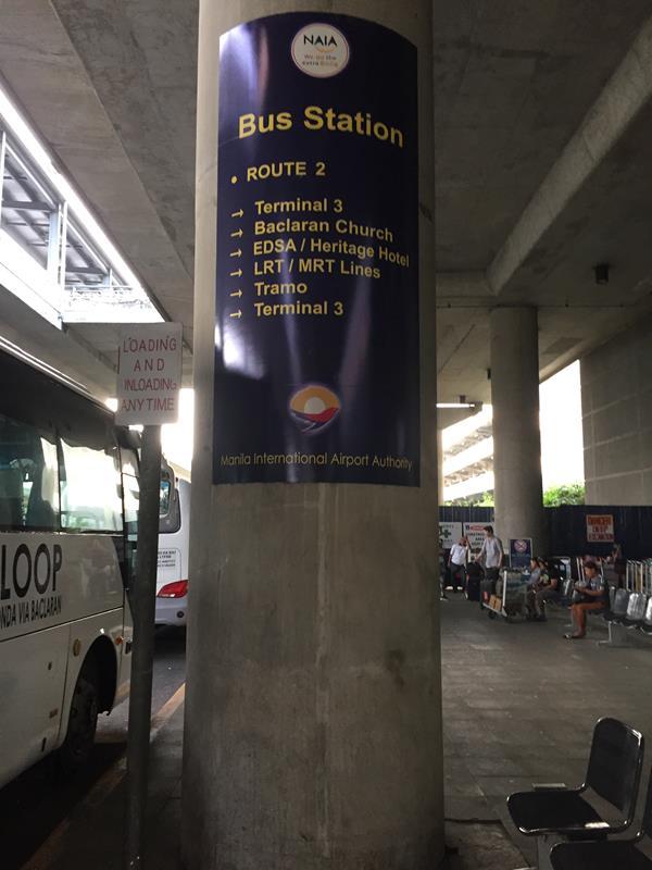 Các điểm đến của bus