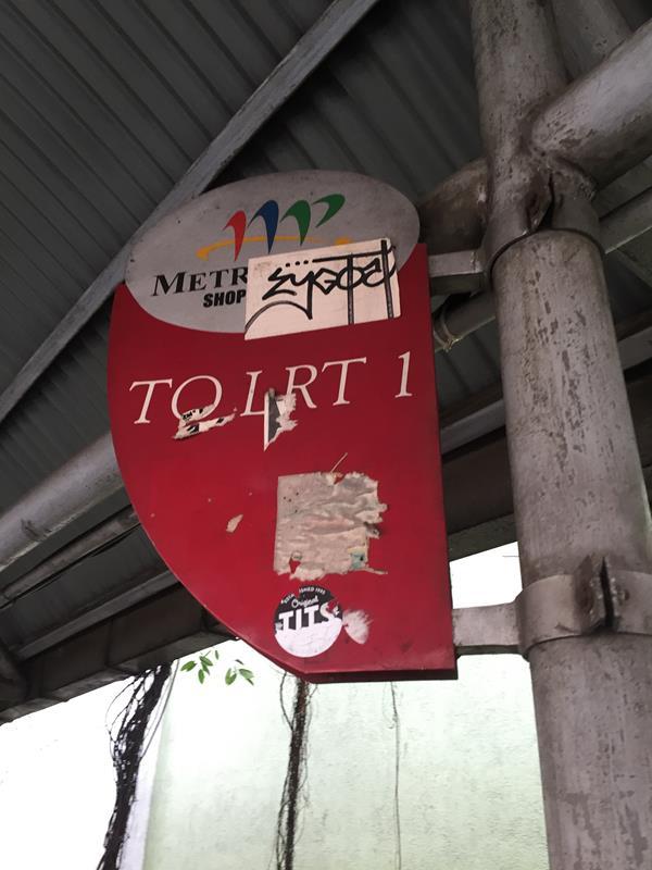 Bảng hướng dẫn đến LRT1