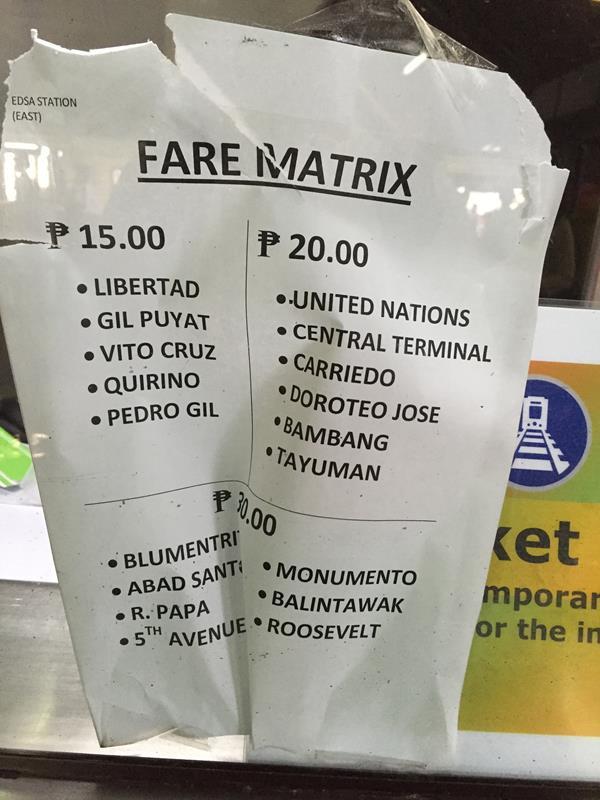 Bảng giá LRT1