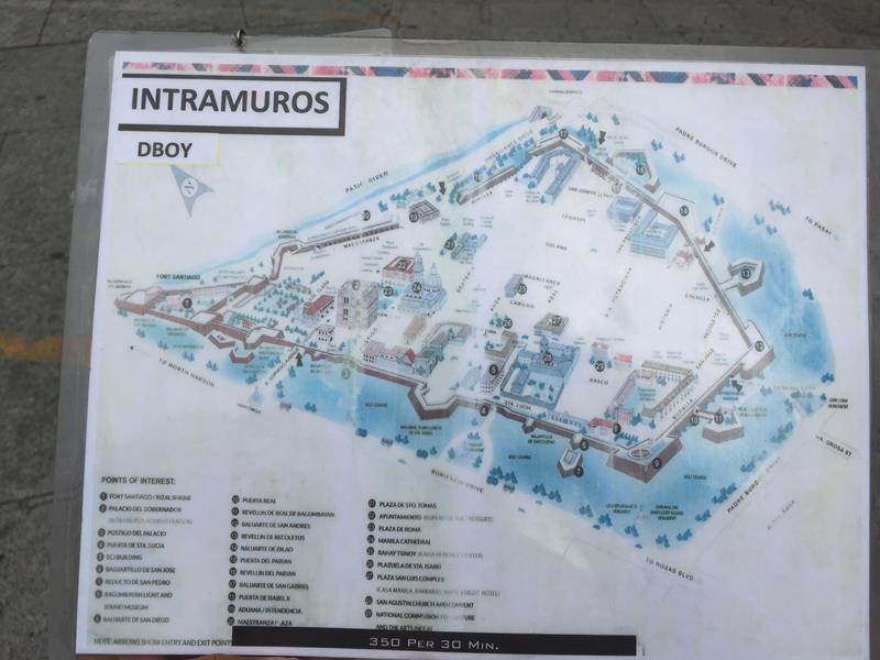 Bản đồ Intramuros