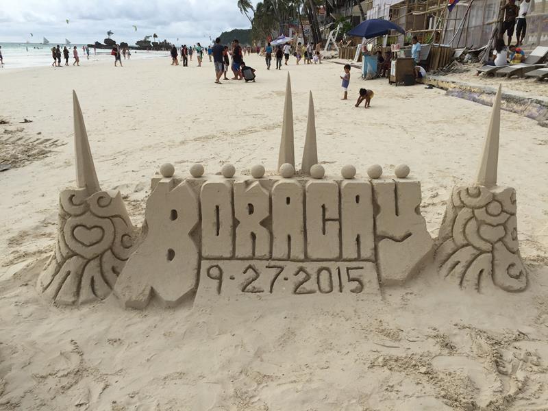 Mô hình cát Boracay