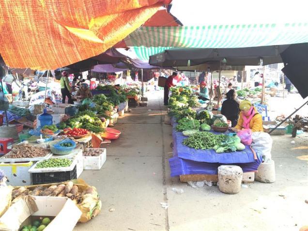 Khu chợ Đồng Văn