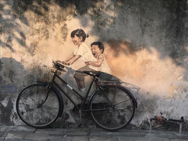 Street Art ở Penang