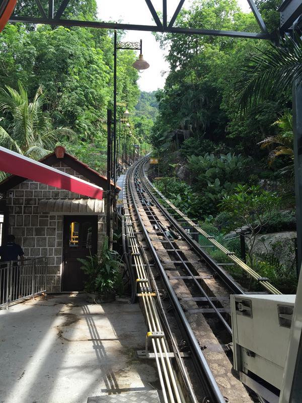 Đường tàu điện lên đồi Penang Hill