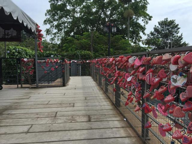 Khu Love Lock ở Penang Hill