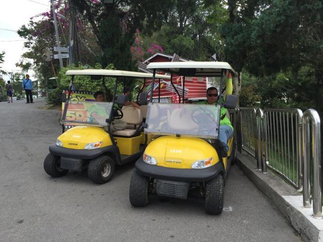 Xe điện tham quan Penang Hill