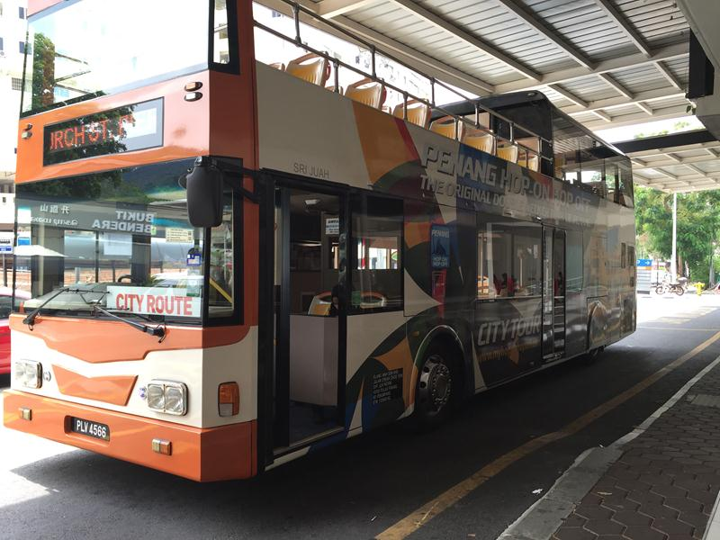 Tuyến Hop On Hop Off ở Penang