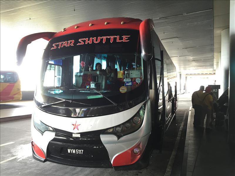 Bus KLIA2 về trung tâm KL