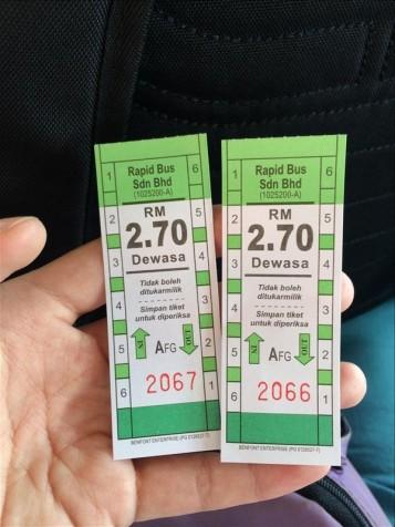 Vé xe tuyến bus 401 đi từ sân bay vào trung tâm George Town