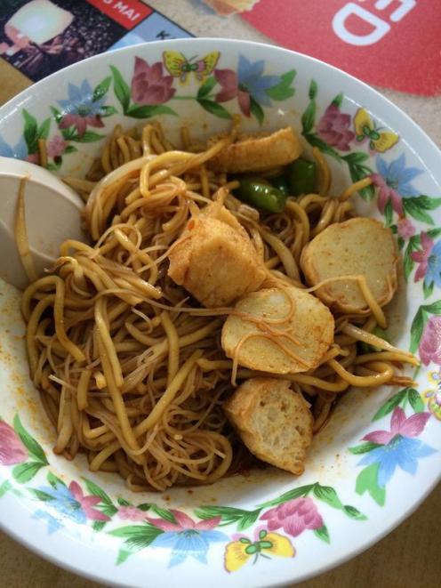 Dried Curry Mee
