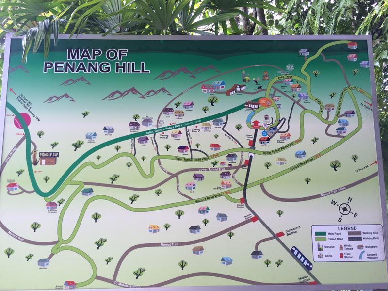 Bản đồ Penang Hill