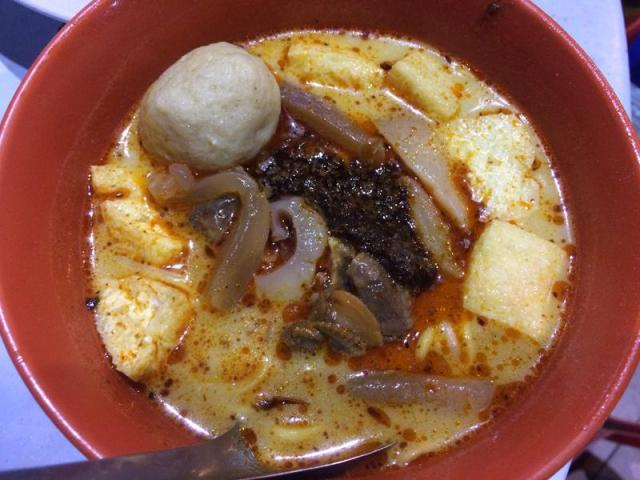 Curry Mee ở Lebuh Chulia