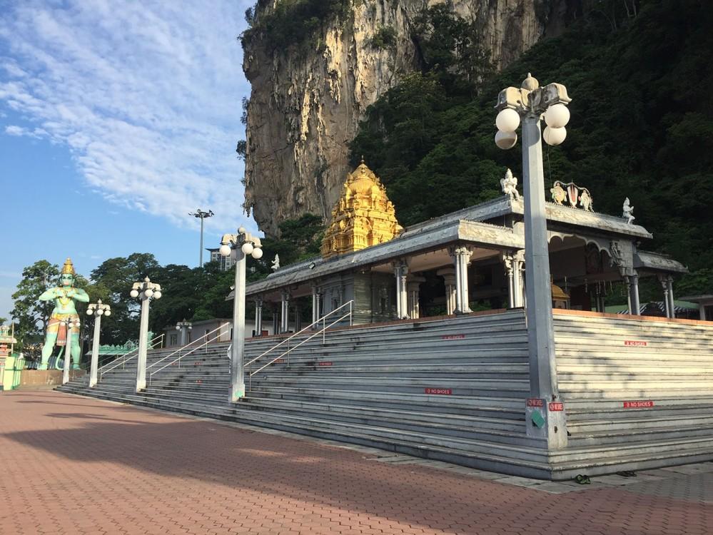 Khu đền gần Batu Caves