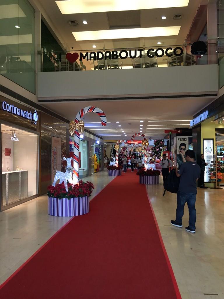 Trang trí Noel ở Fahrenheit mall