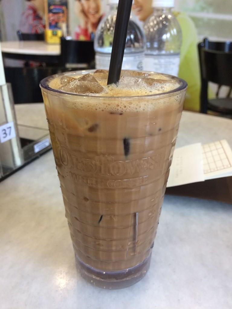 Cà phê sữa ở Old Town Coffee
