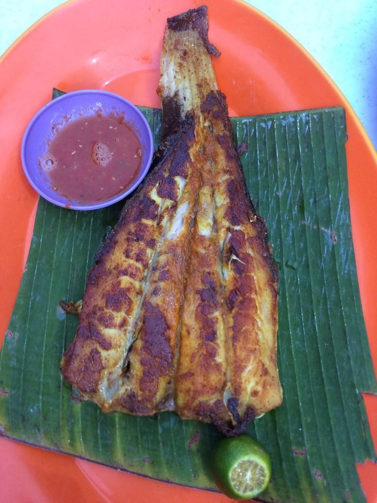 Stingray ở Restoran Lim Kee