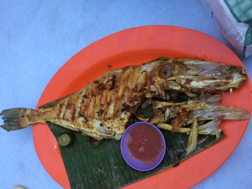 Chicken fish ở tiện Restoran Lim Kee
