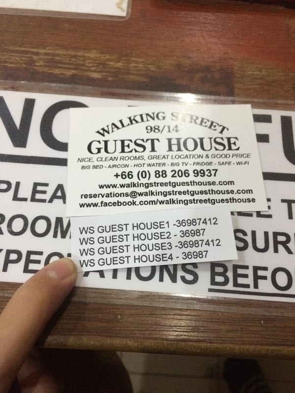 Walking Street Guest House