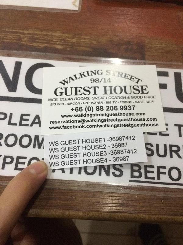 Walking Street Guest House