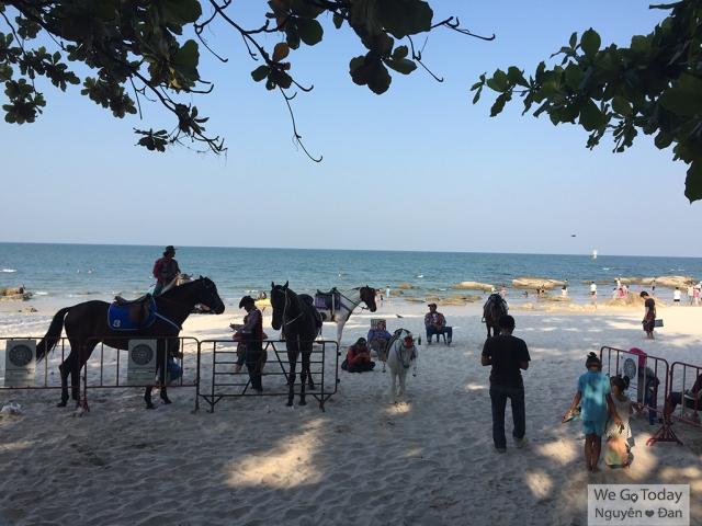 Hua-Hin beach