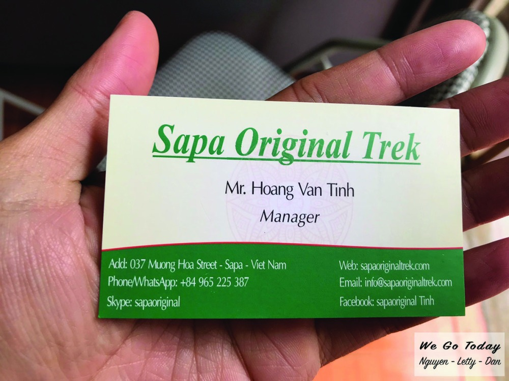 Văn Phòng Sapa Original Trek - Đặt tour leo Fan