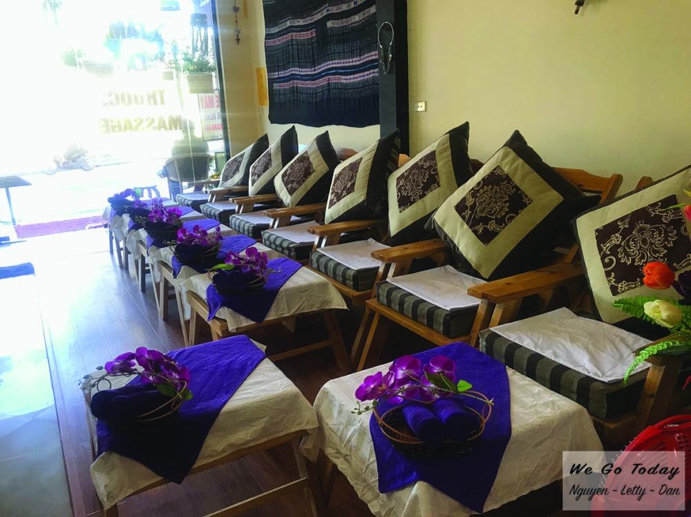 Spa massage Trần Hưng ở Sapa