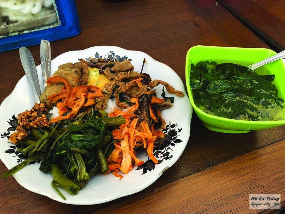 đồ ăn trưa ở Bondowoso