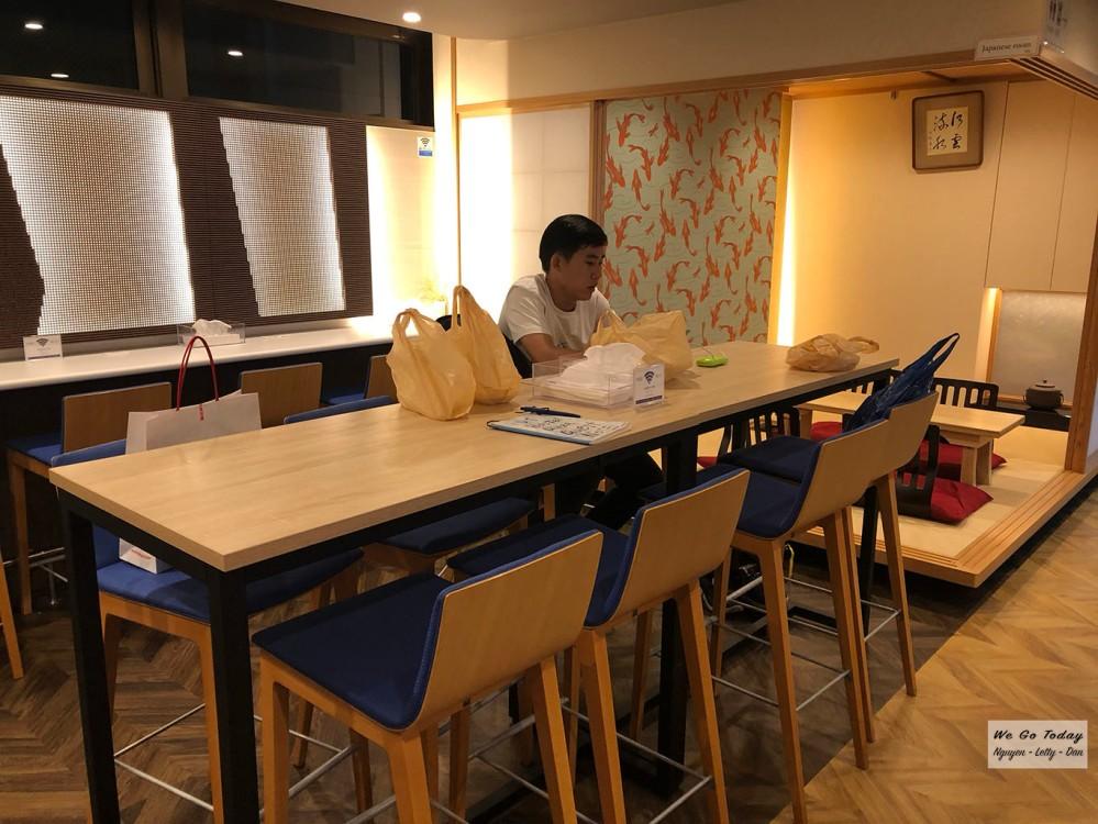 DJ Hostel Ginza - khu sinh hoạt chung