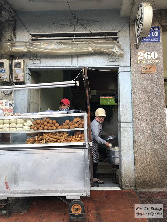 Bánh bao chiên 360 Hùng Vương