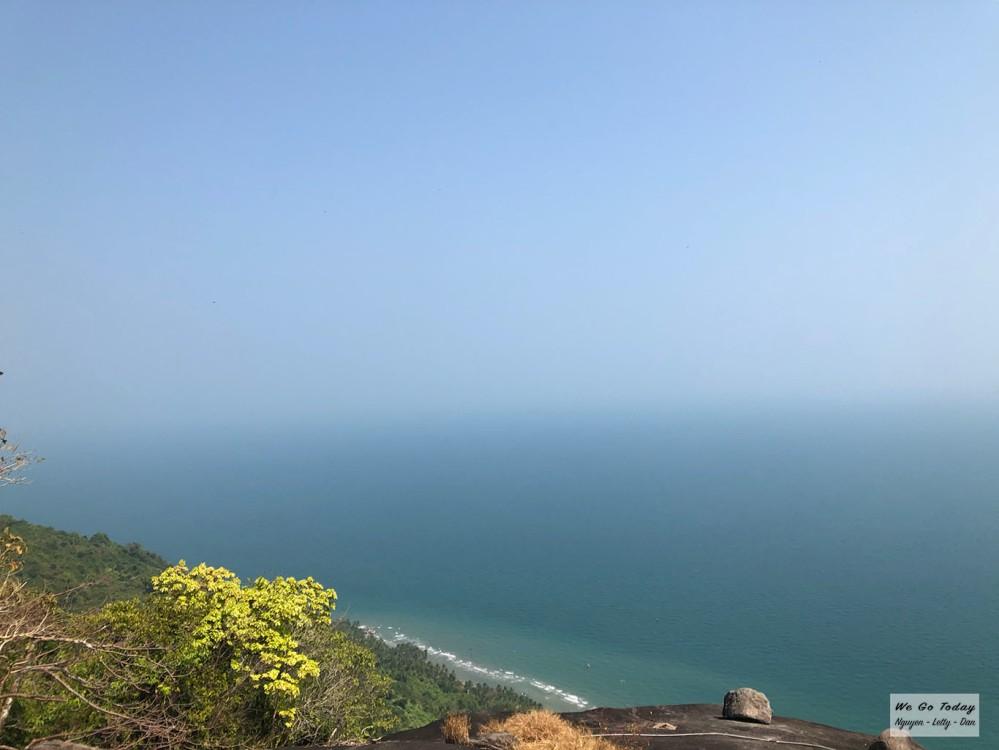View nhìn từ trên cao ở Ma Thiên Lãnh