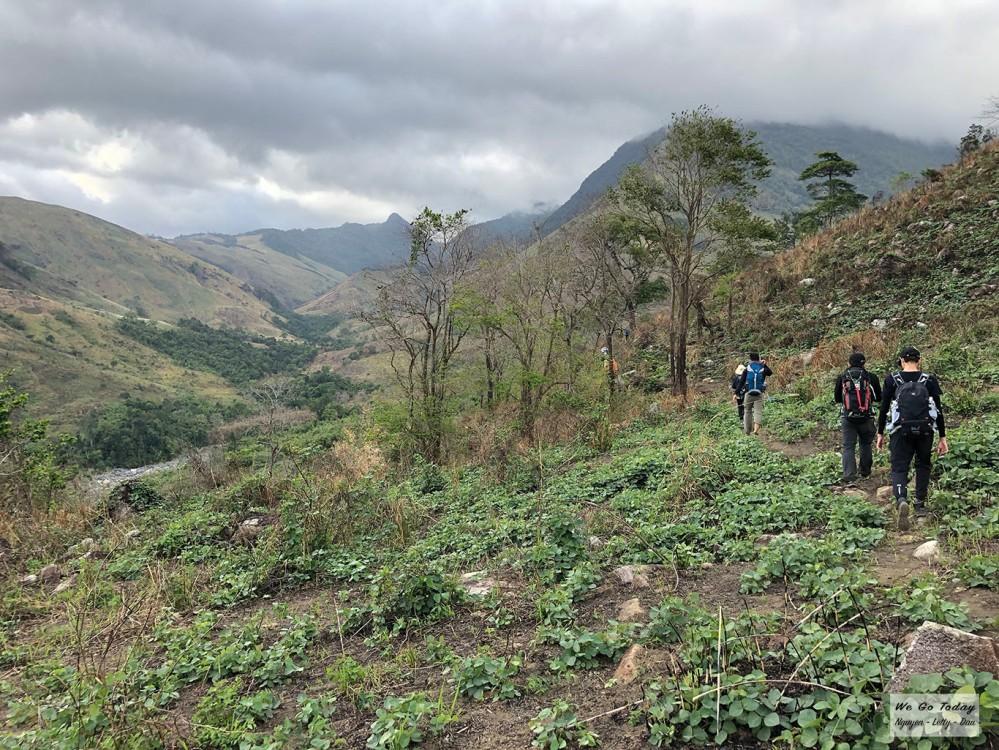 Đường trekking Tà Giang