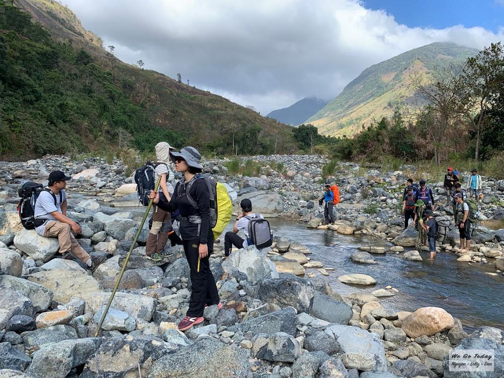 Cung đường trekking Tà Giang